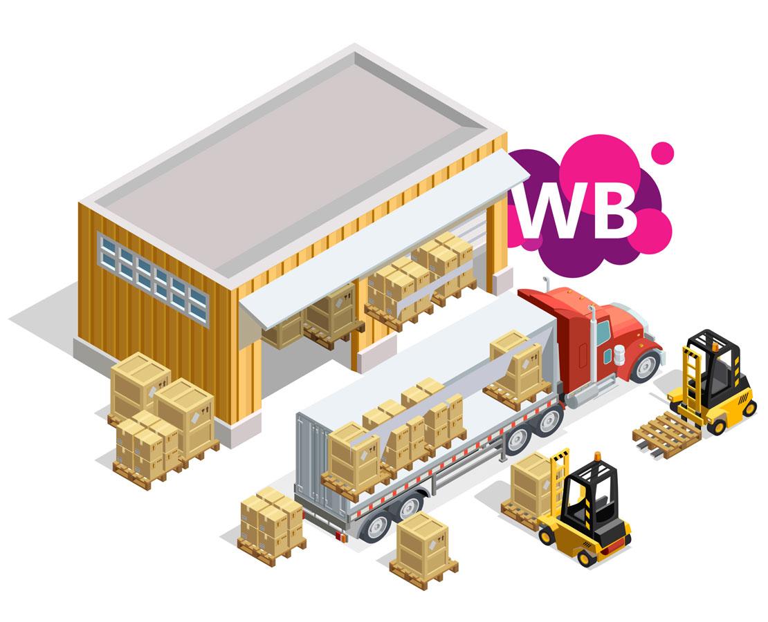 Обложка поста склады WildBerries